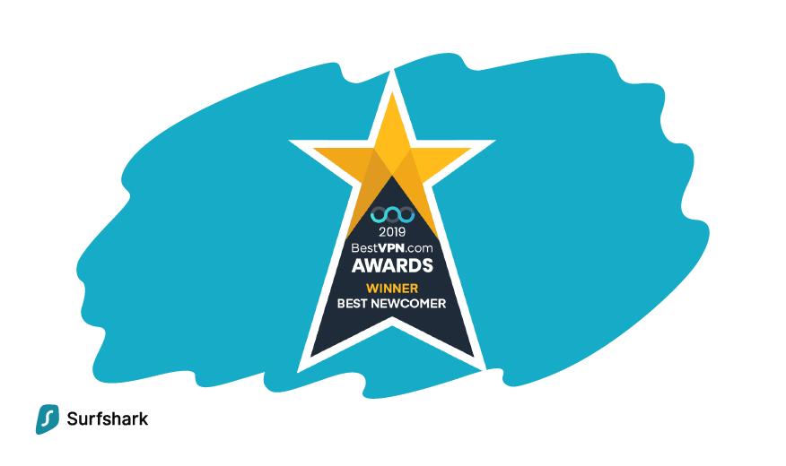 We're officially the Best Newcomer VPN 2019! | BestVPN com awards