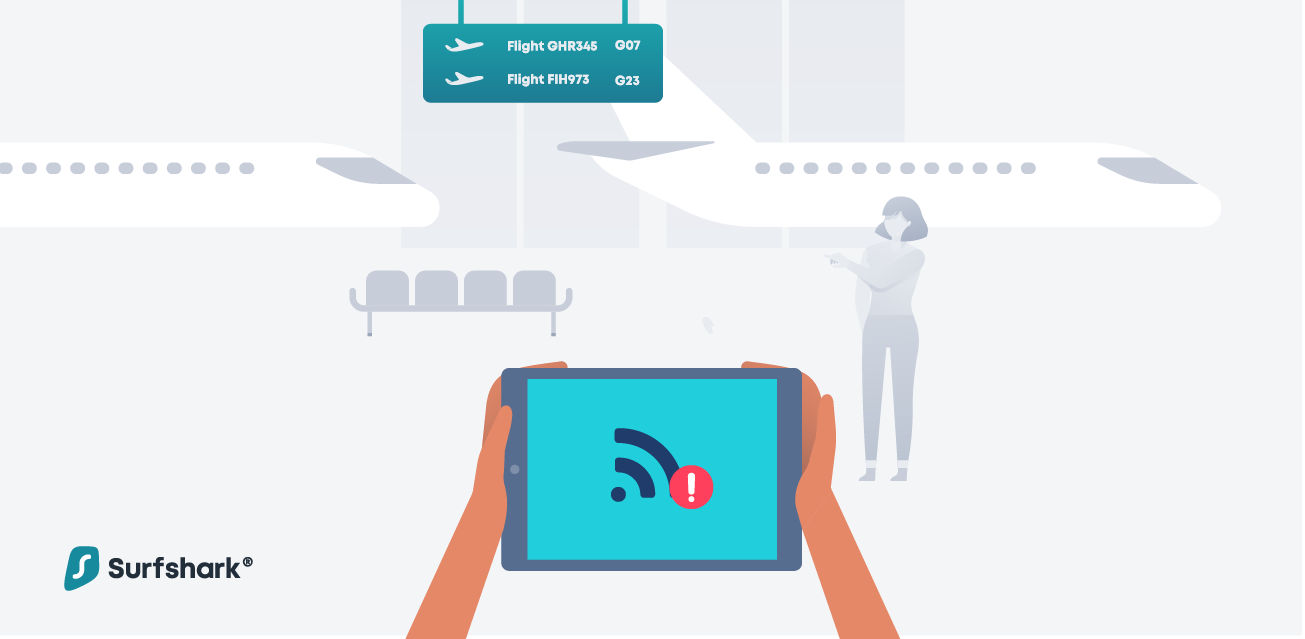 Is That Airport WiFi Really Safe? - Surfshark