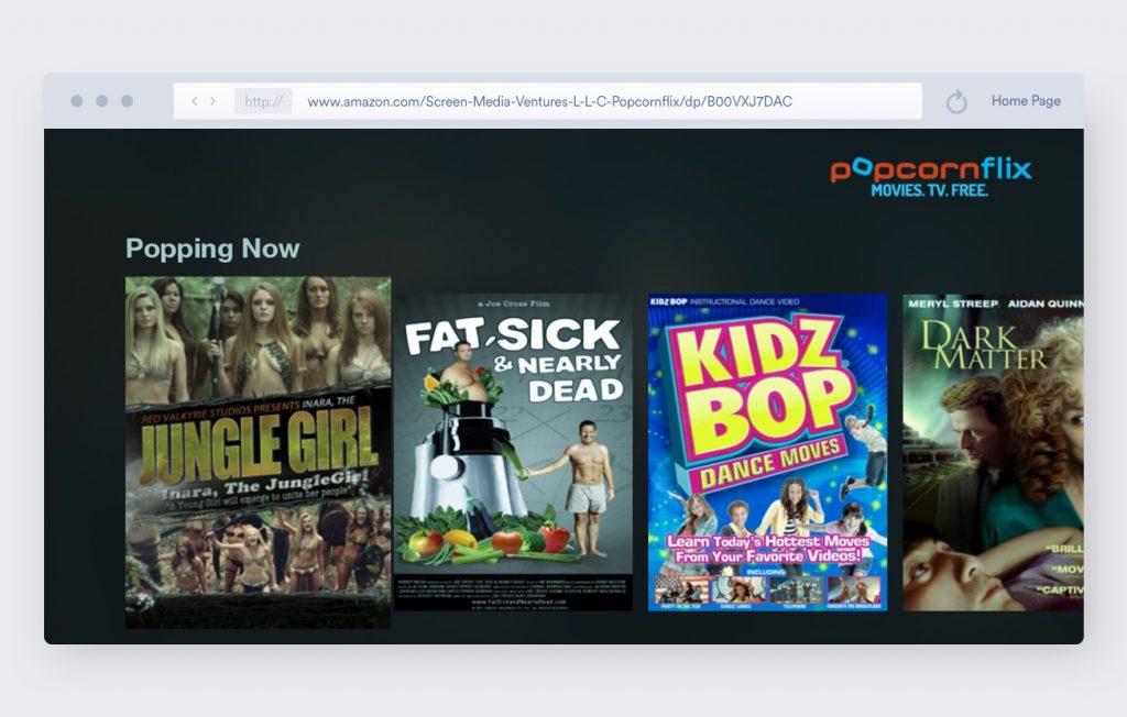 popcornflix best amazon fire stick apps