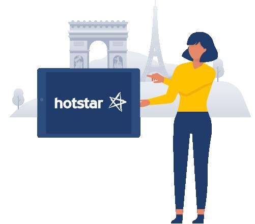 Watch HotStar outside of India - Surfshark