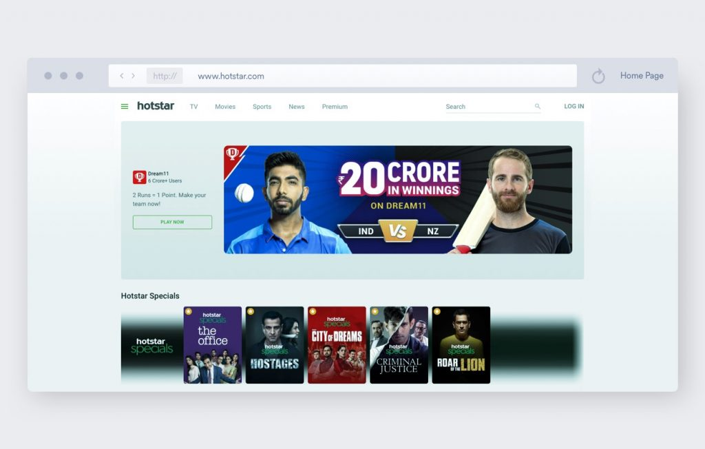free streaming sports sites no sign up