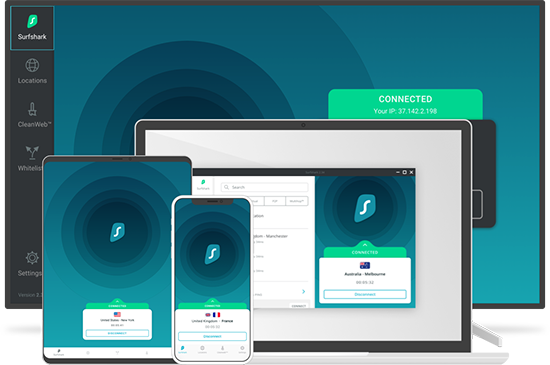 Surfshark VPN software