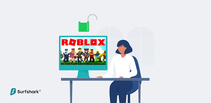 woman playing roblox unblocked