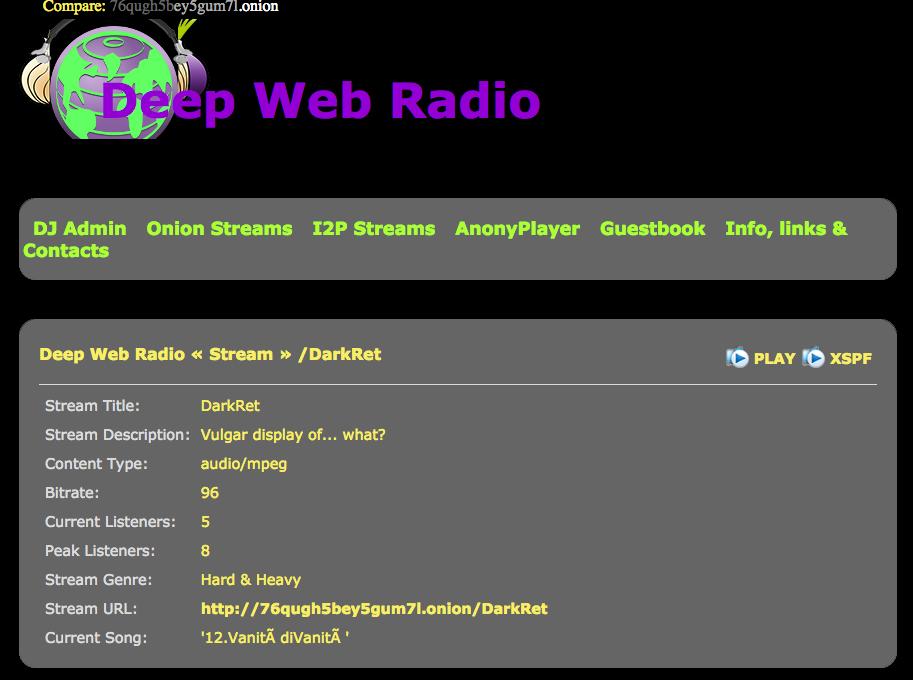 Deep Web Radio