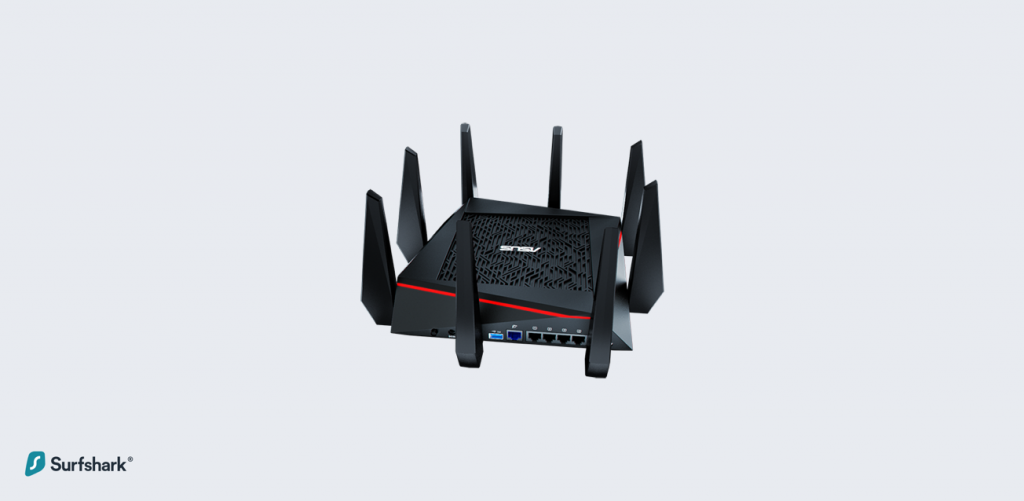 Top 5 VPN Routers - Asus RT-AC5300 AC5300 Tri-Band Gigabit WiFi Gaming Router