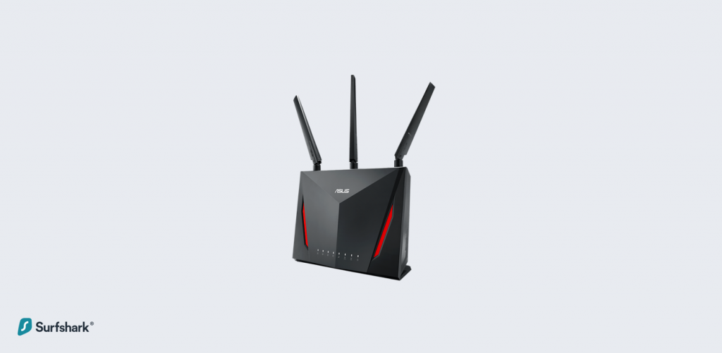 Top 5 VPN Routers - Asus RT-AC86U AC2900 Dual Band Gigabit WiFi Gaming Router