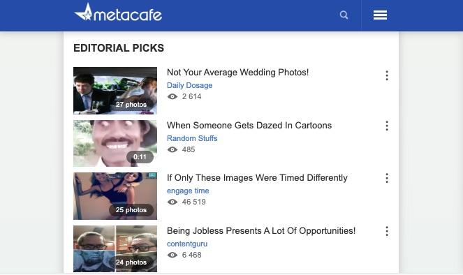 metacafe screenshot