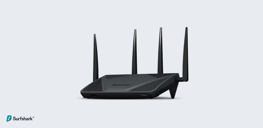 Top 5 VPN Routers - Synology RT2600AC