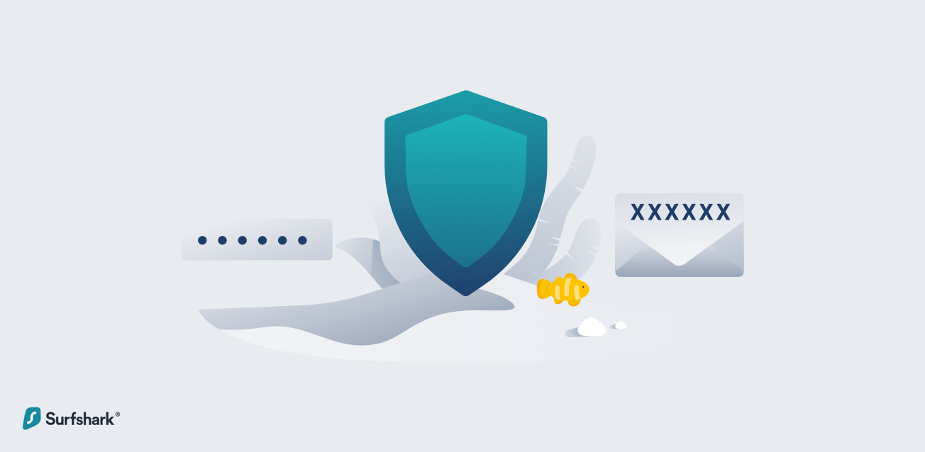 surfshark 2 factor authentication graphic