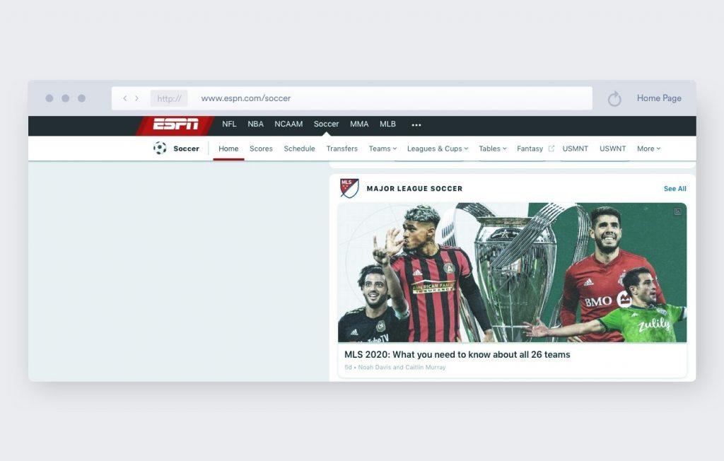 espn soccer streaming