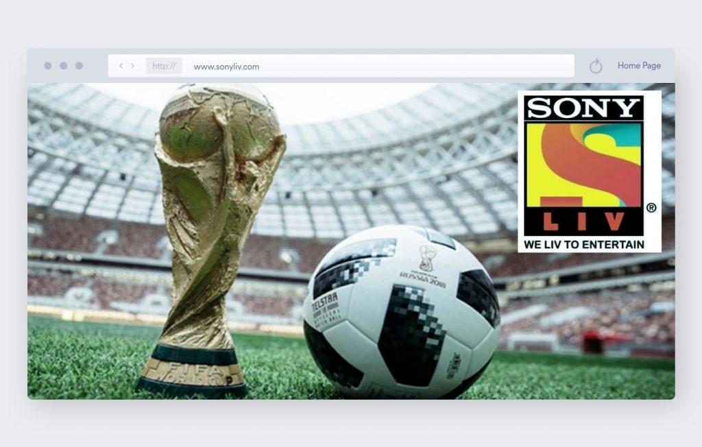 sony liv soccer streaming