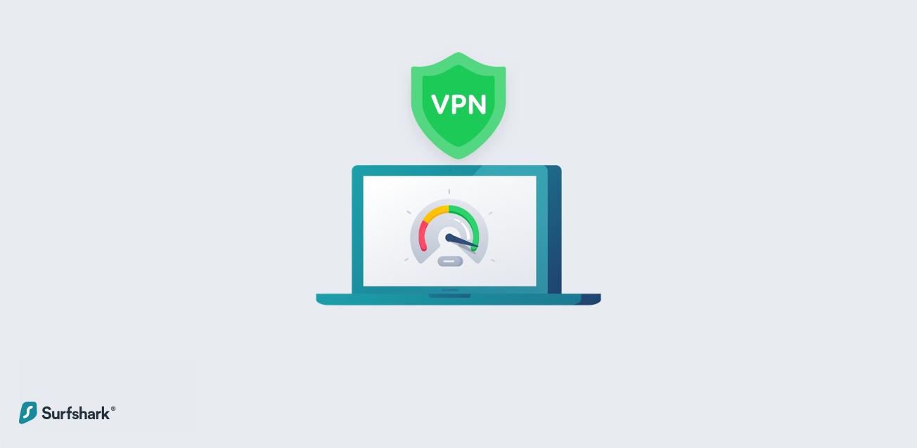 Surfshark VPN Slow Down graphic