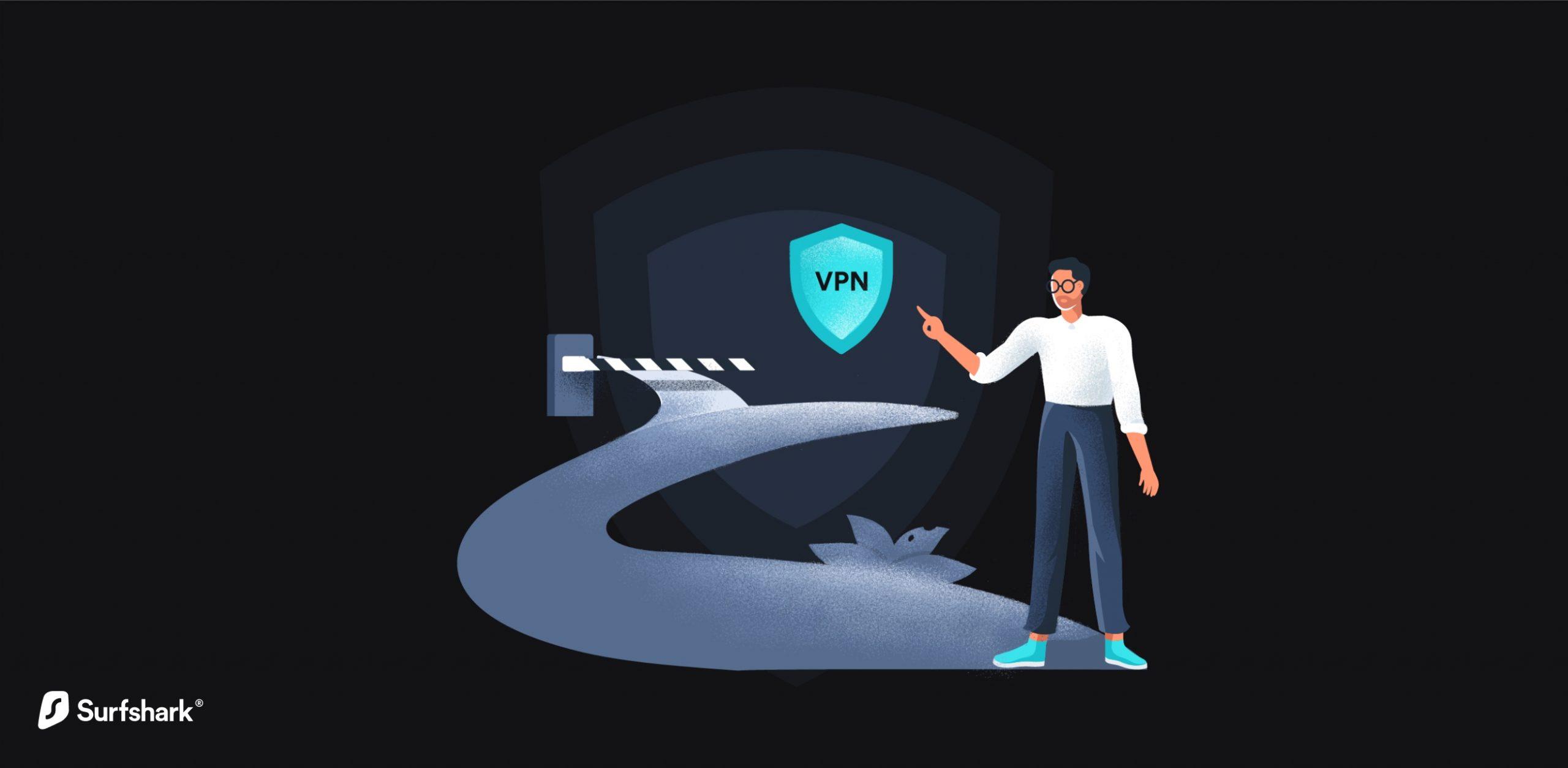 Surfshark VPN Passthrough graphic