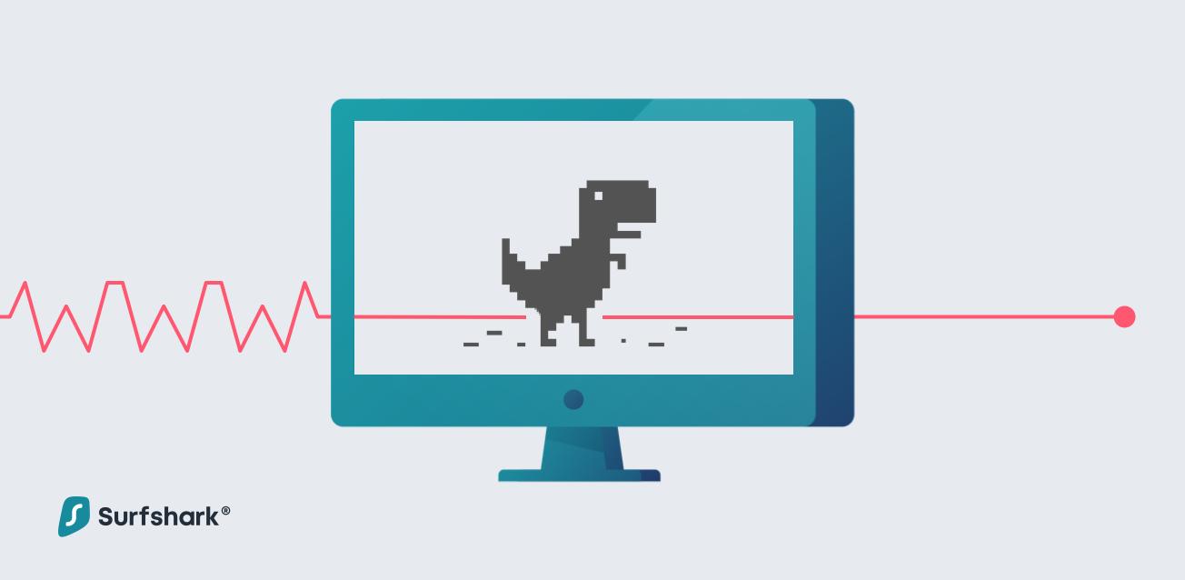 T-rex runner graphic