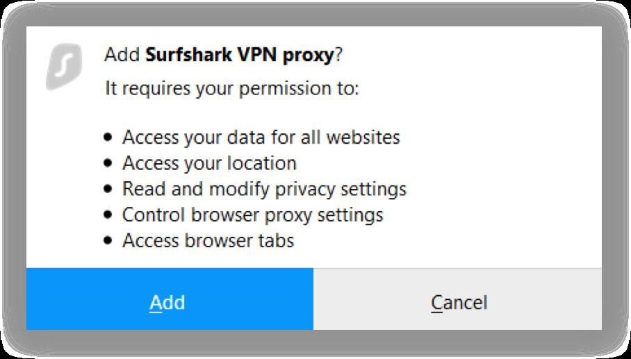 how to setup a vpn on firefox