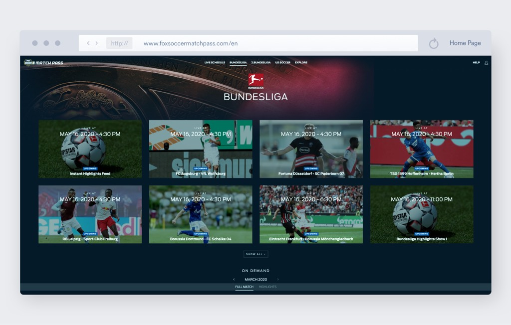 fox sports soccer streaming