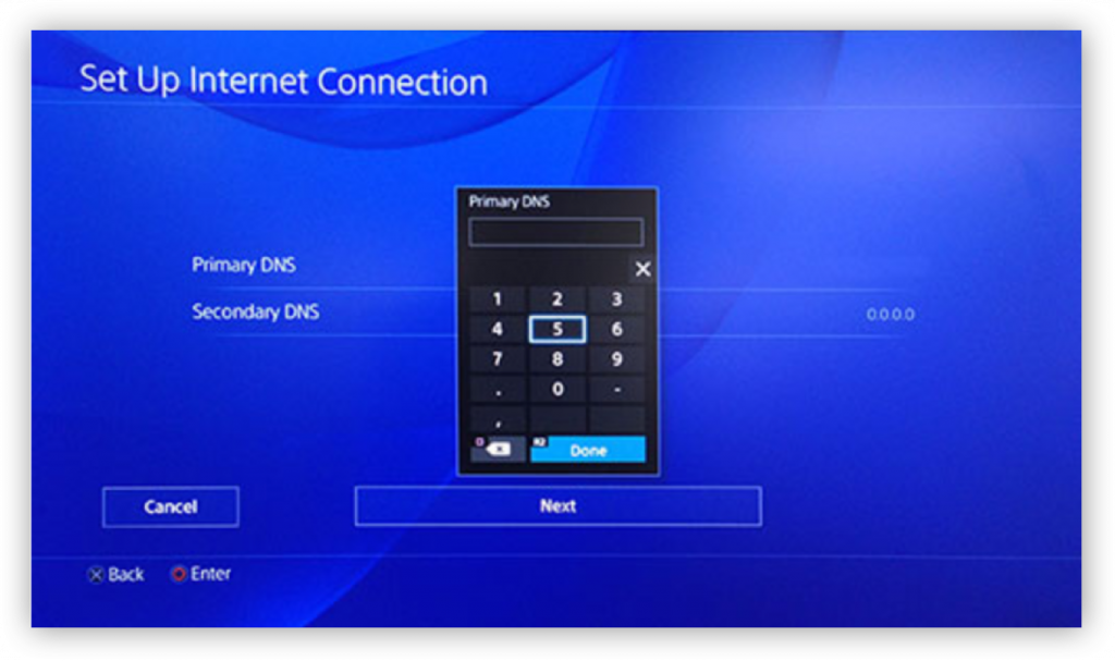 how to setup a vpn on playstation