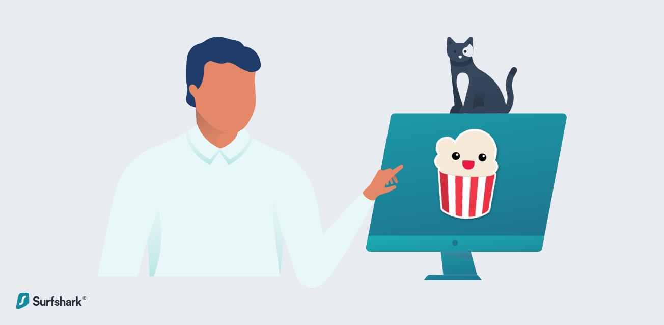 surfshark popcorn time graphic