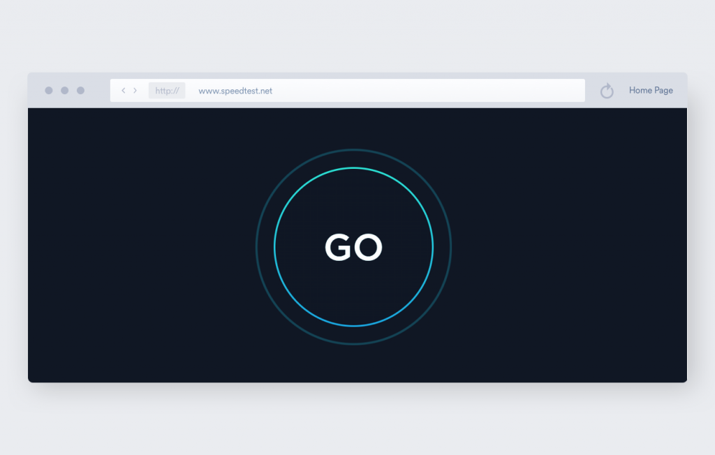 speed test by ookla