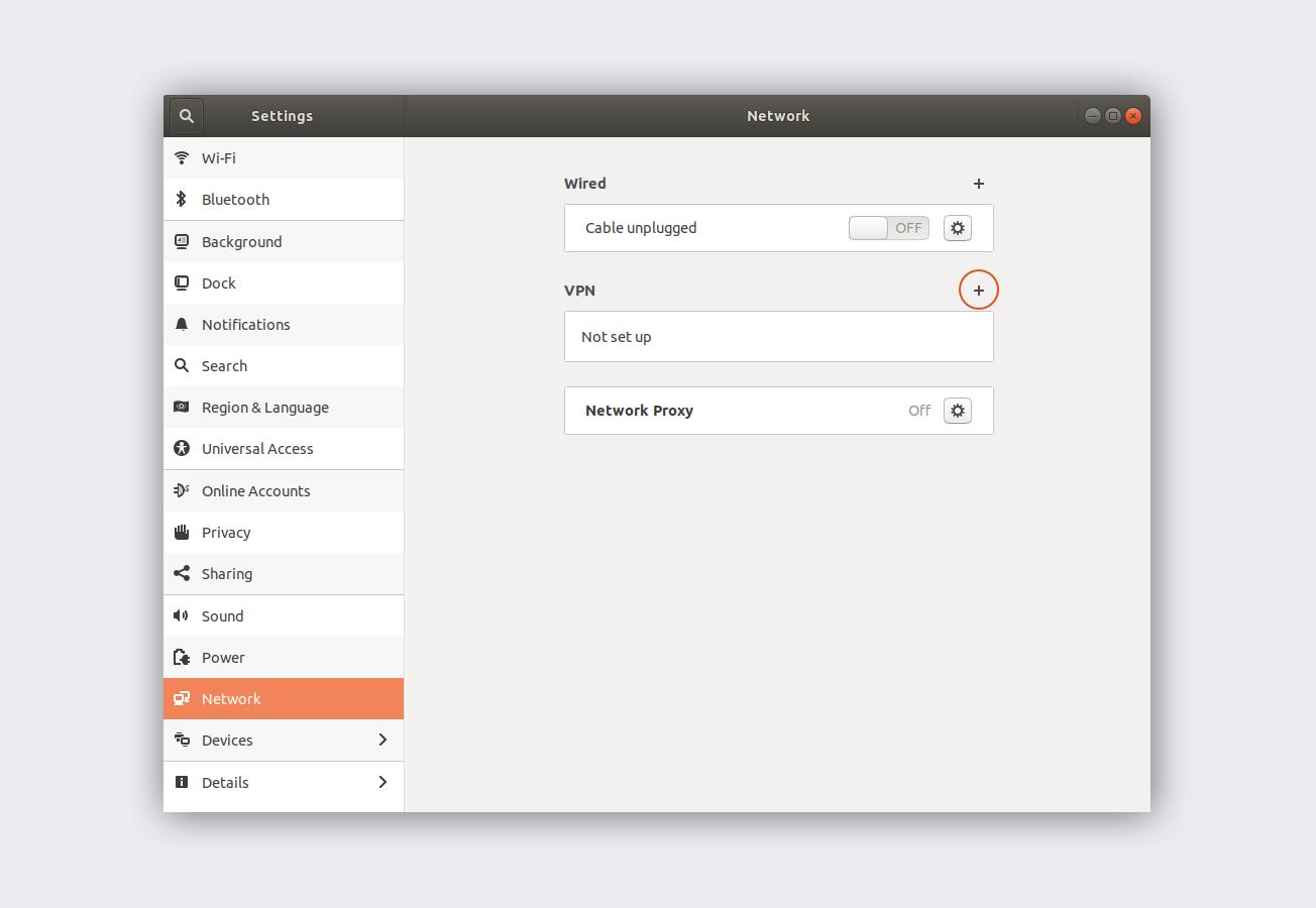linux network settings