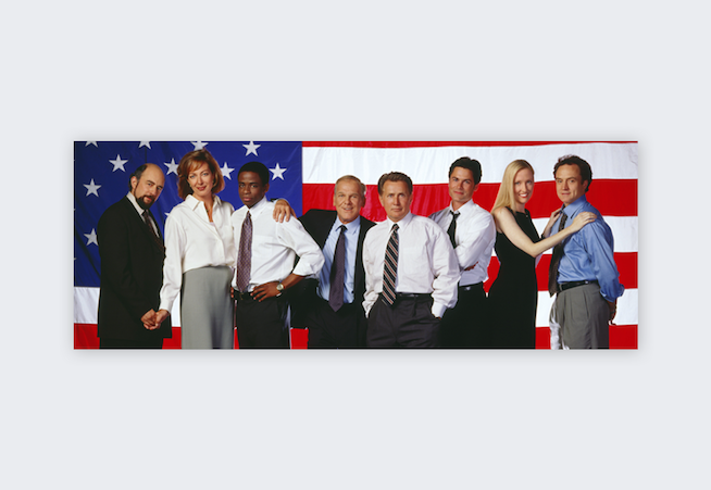 US-only Netflix shows - The West Wing
