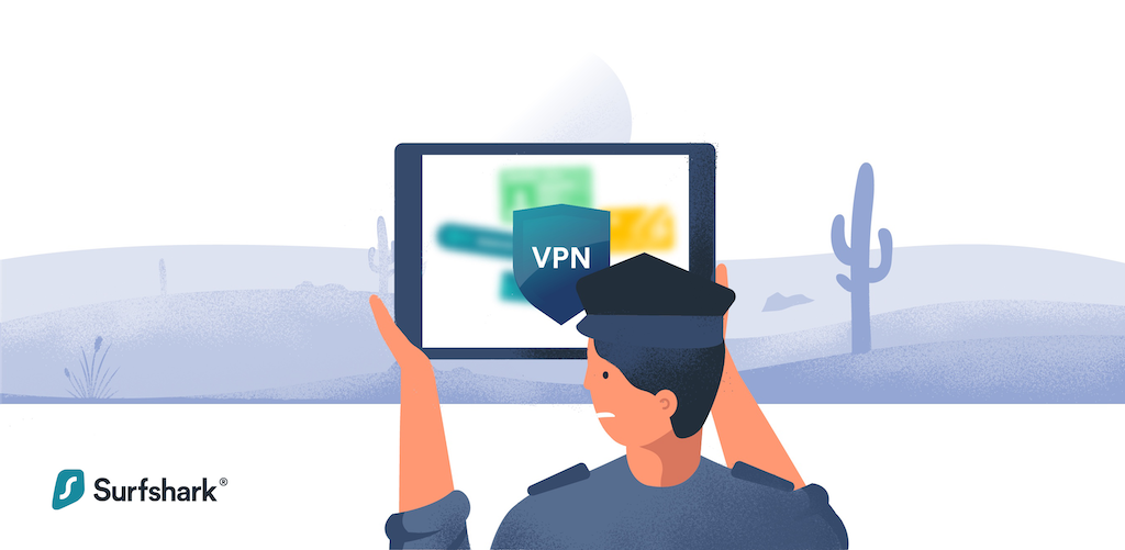 Can police track online purchases made with a VPN?