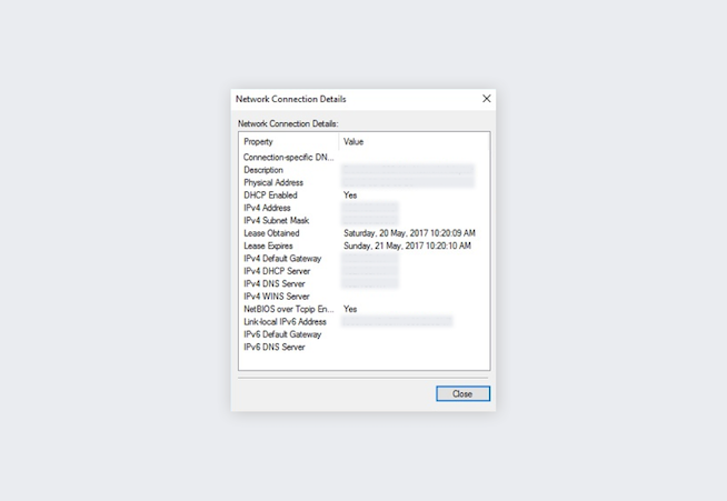 How to find router IP address on Windows