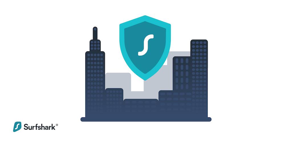 A VPN hides your location