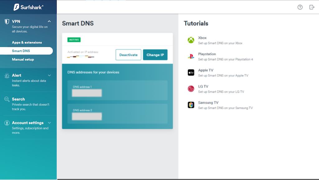 Pick Smart DNS address