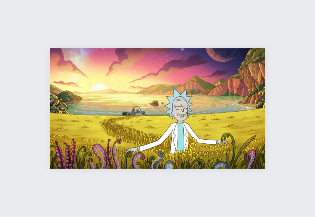 Top 10 IMDB-rated TV shows on Netflix - Rick and Morty