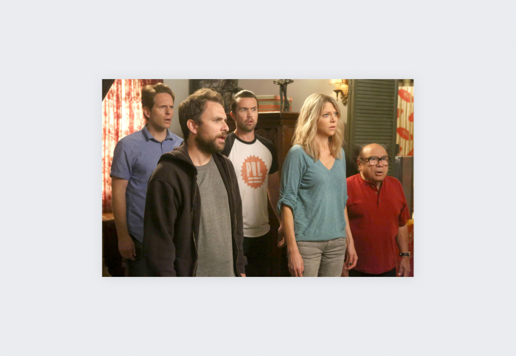 Top 10 IMDB-rated TV shows on Netflix - It's Always Sunny in Philadelphia