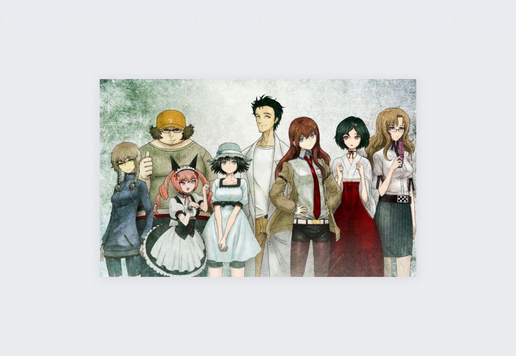 Top 10 IMDB-rated TV shows on Netflix - Steins;Gate